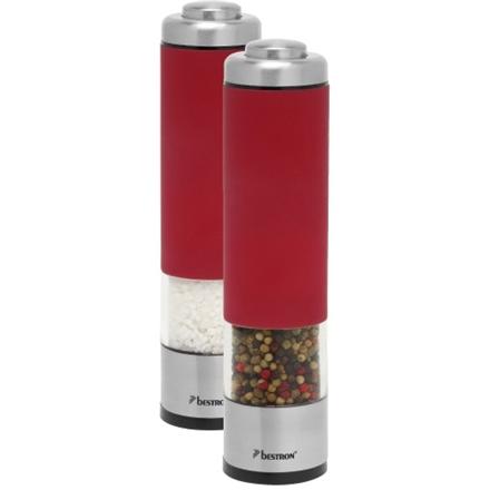 BESTRON Elektrische peper- en zoutmolen