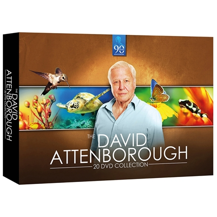 David Attenborough 20 DVD compact