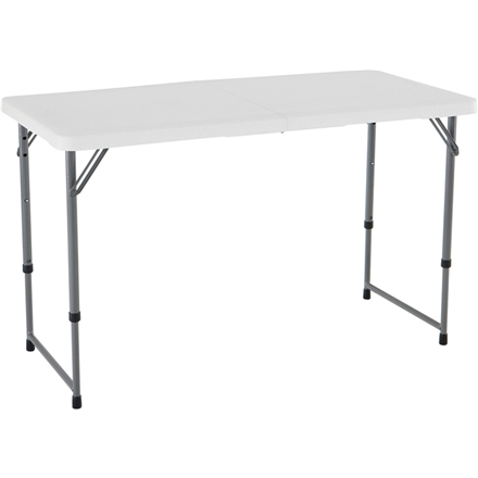 LIFETIME Verstelbare en opvouwbare tafel