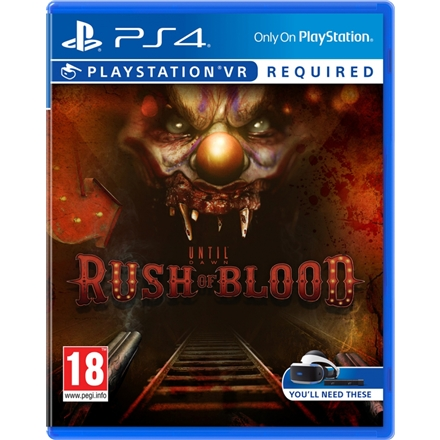 SONY PLAYSTATION Until Dawn Rush of Blood VR