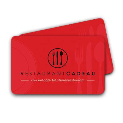 Restaurant Cadeaukaart 50 Euro