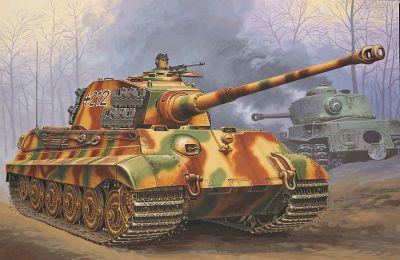 03129 revell tiger ii ausf. b [niv 4]