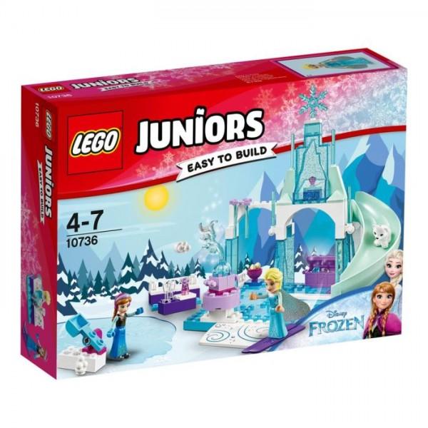 10736 Lego Juniors - Anna's en Elsa's Bevroren Speeltuin