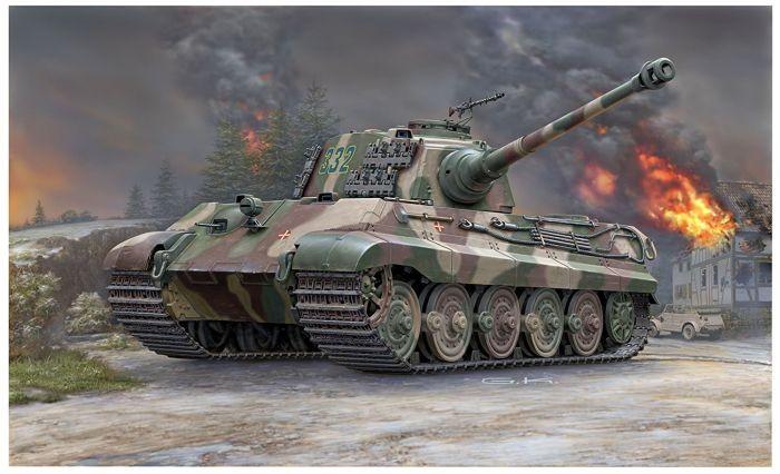 3249 Revell (Henschel Turret) TigerII Ausf.B