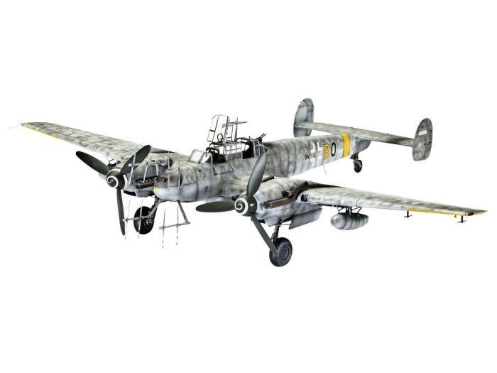 64857 Revell Model set BF 110 G-4 Nightfighter