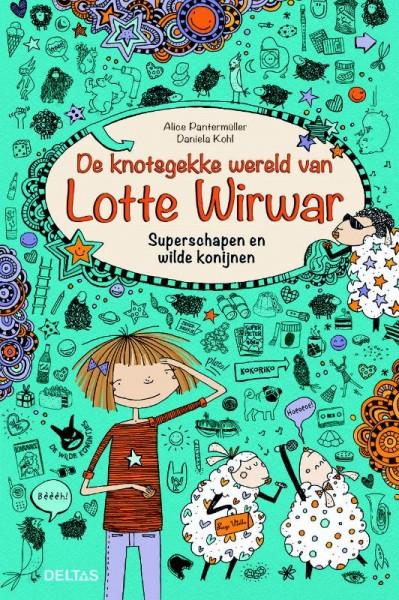 Boek De avonturen van Lotte Wirwar Superschapen en Wilde Konijnen