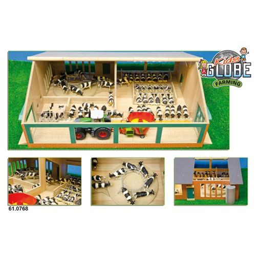 Boerderij Ligbox Stal Kids Globe Farming 1:32