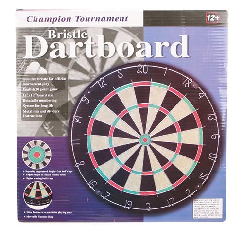 Dartboard Bristle 45x3.8cm