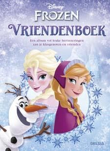 Disney frozen vriendenboek