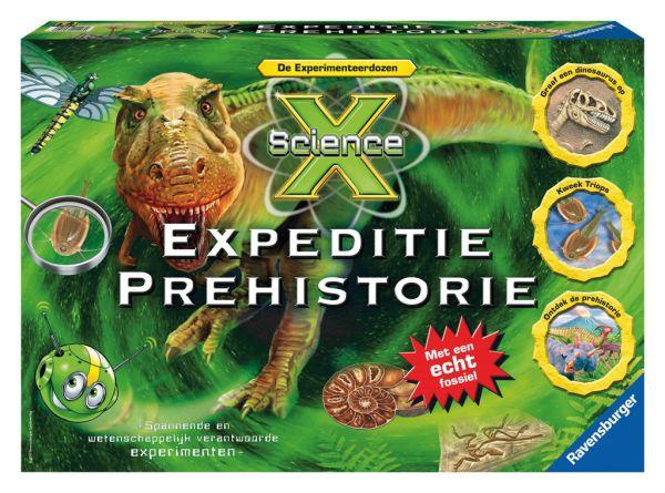 Experimentendoos - expeditie prehistorie