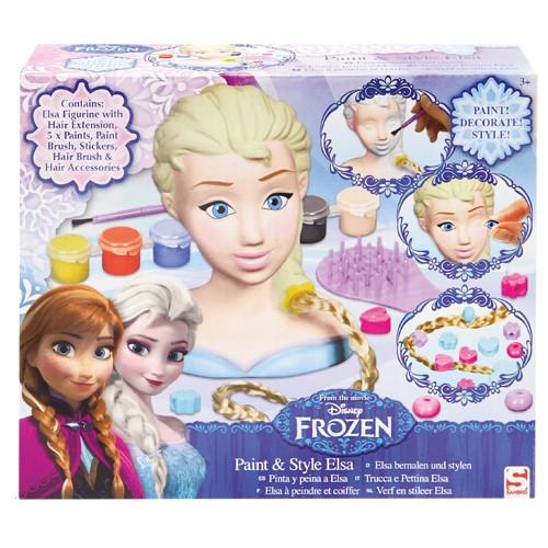Frozen Stylinghead Gips Elsa