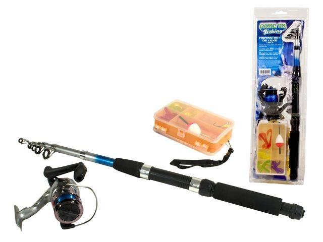 Game On Fishing Telwerp Hengel met accessoires