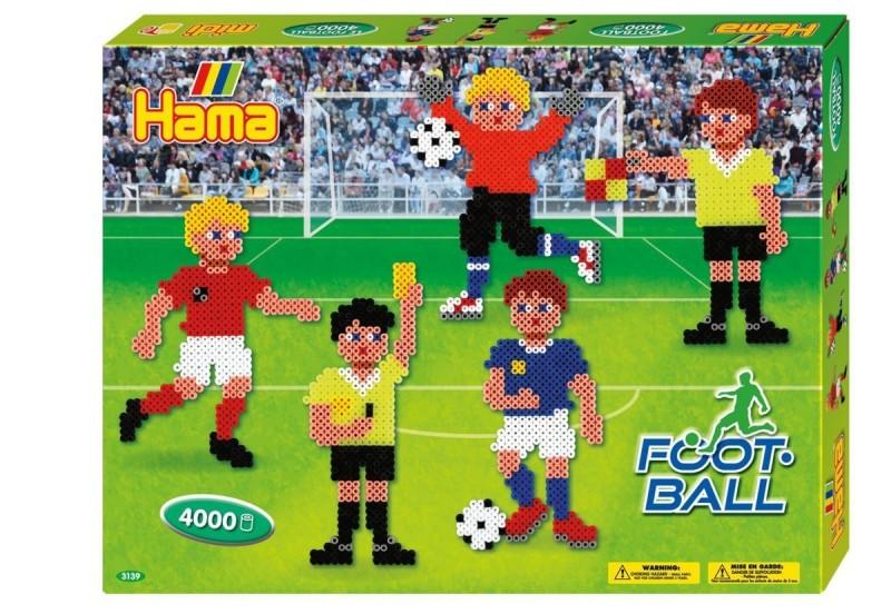 Hama Strijkkralen Voetball 4000 Delig