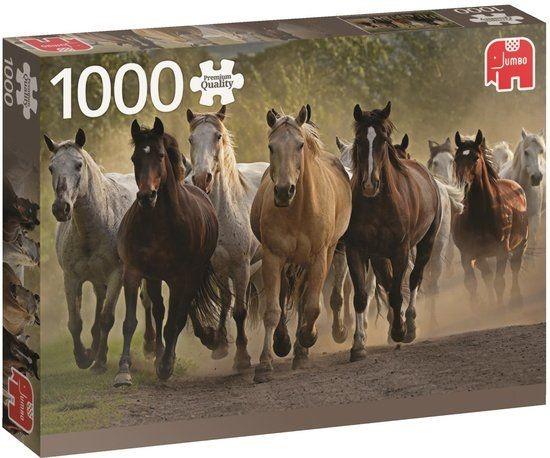 Jumbo Puzzel Horses (1000)
