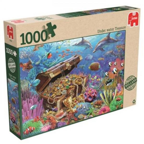 Jumbo Puzzel Onderwater Schat (1000)