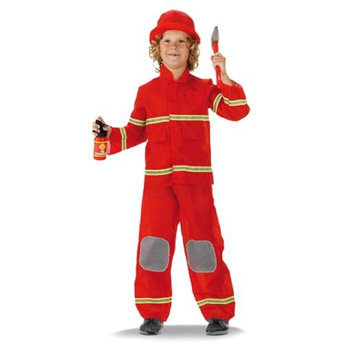 Kleding Brandweerman (Maat S)