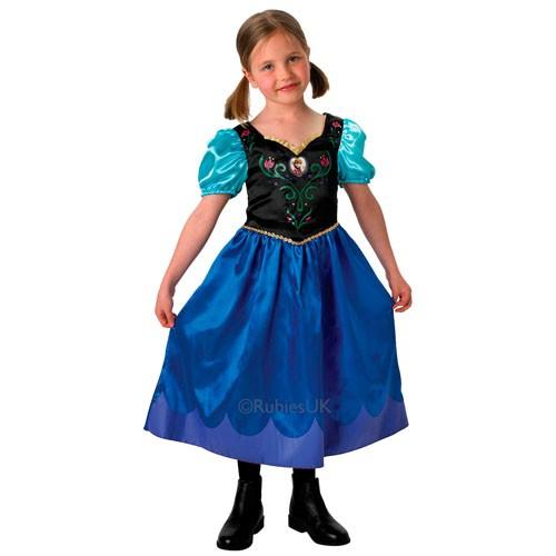 Kleding Frozen Anna Klassiek (maat S)