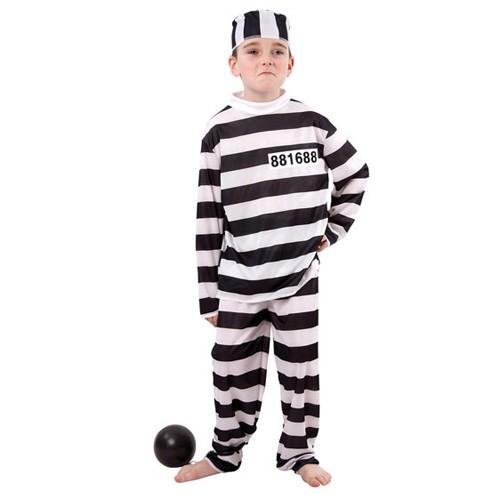 Kleding Gevangenis 7-9 Jaar