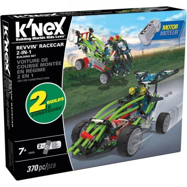 Knex Revvin Racecars 2In1