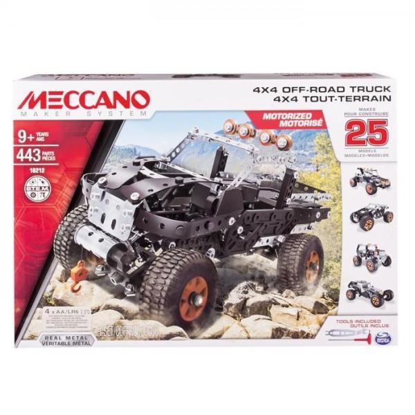 Meccano 4X4 Truck 25 Model set