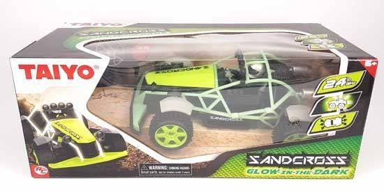 Radiografisch Bestuurbare Auto 1:18 Buggy Sandcross Groen