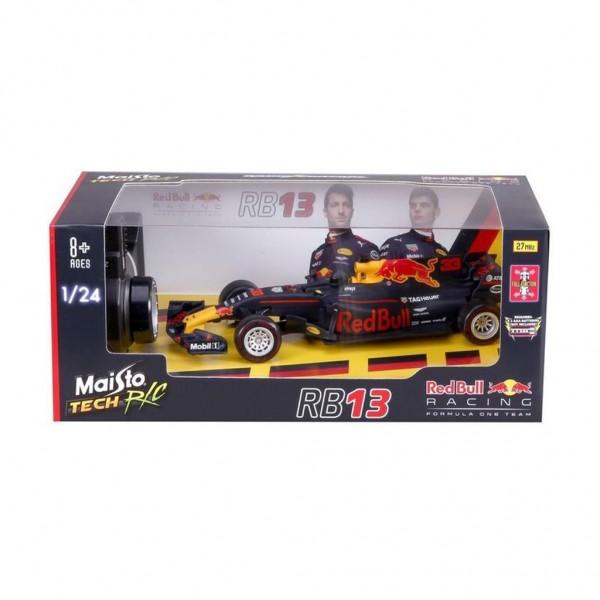 Radiografisch Bestuurbare Auto 1:24 Red Bull RB13