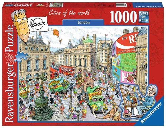 Ravensburger Puzzel Fleroux - London, cities of the world (1000)
