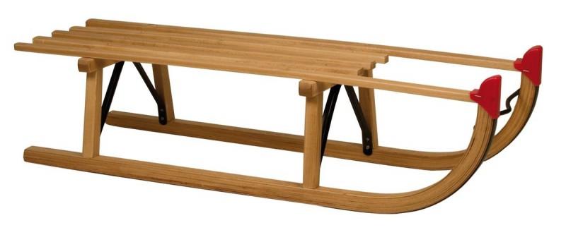 Slede hout Davos 100 cm.