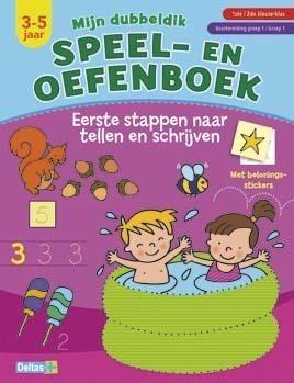 Speel- en oefenboek Eerste stappen naar tellen en schrijven (3-5 Jaar)