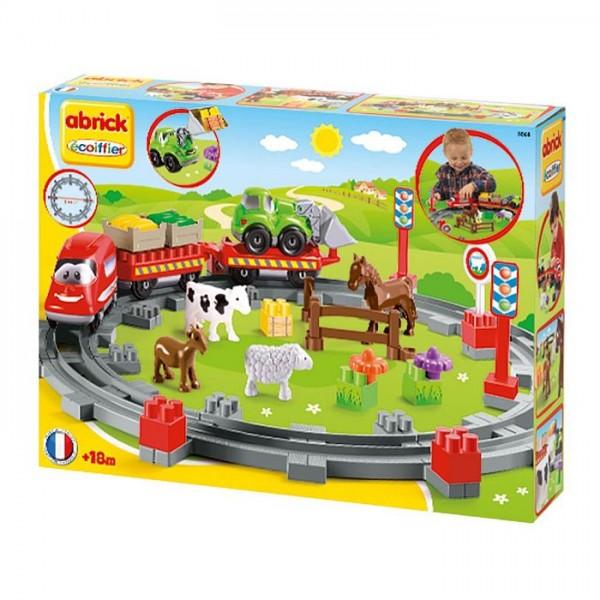 Speelset Abrick Trein Platteland
