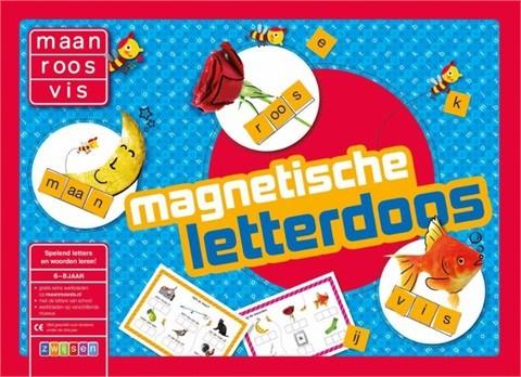 Spel Maan Roos Vis Magnetische Letterdoos