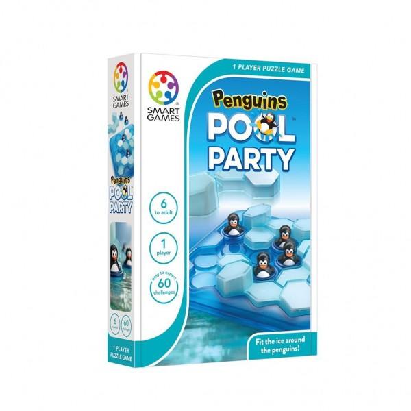 Spel Reis Penguïns Zwembad Party