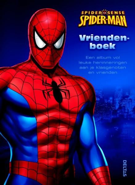 Spiderman spider sense vriendenboek