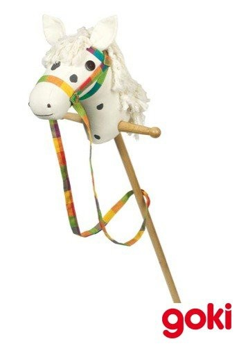 Stokpaard met wiel Schimmel