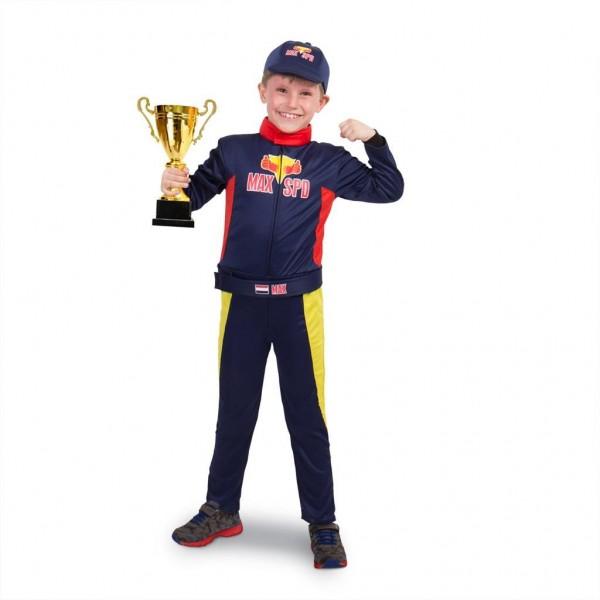 Verkleedset Race Outfit Max Verstappen (Maat L)