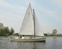 Zeilen over de Maas