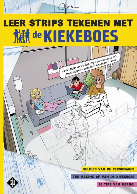 de Kiekeboes Leer strips tekenen met De Kiekeboes