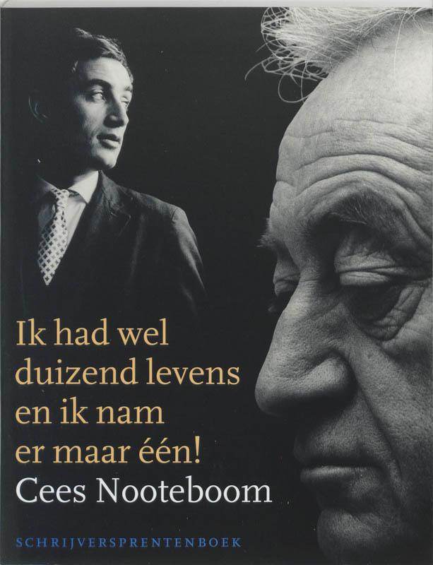 Nooteboom*Schrijversprentenboek Cees Nooteboom