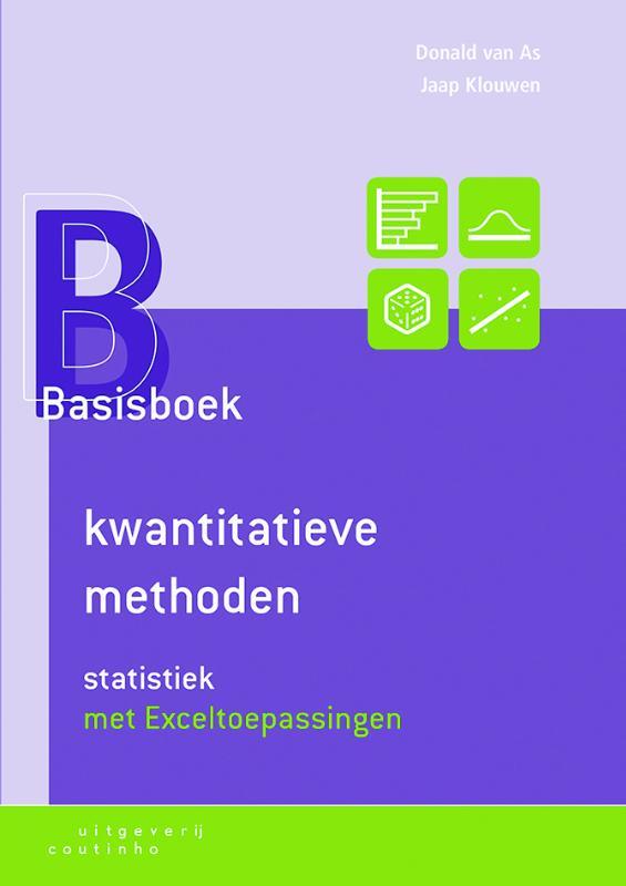 Basisboek kwantitatieve methoden - Statistiek met Exceltoepassingen