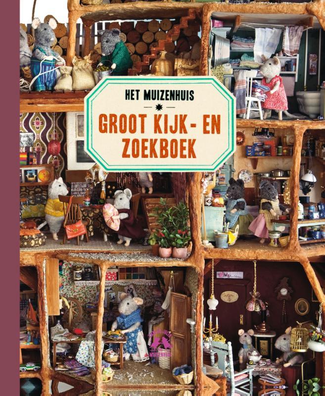 Het Muizenhuis Groot Kijk-en zoekboek, Studio Schaapman, Karina Schaapman