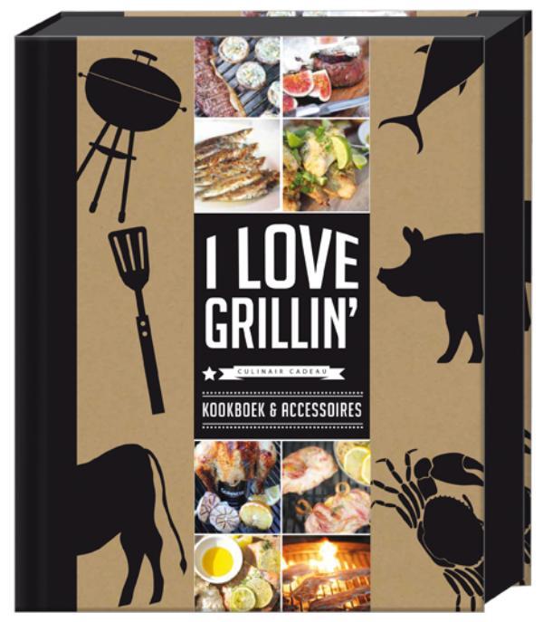 I love Grillin' - Pakket met 2 steakmessen